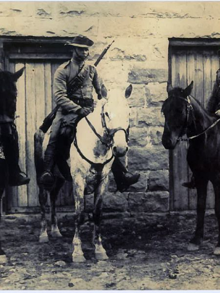 In the field - 1900 - Cpl Messer, Unknown, R Corkhill DCM copy.jpg